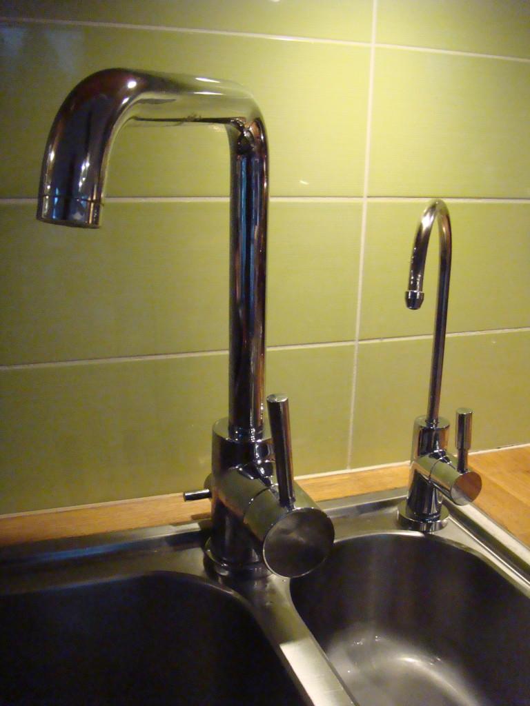 Ur den lilla kranen kommer fantastiskt rent och gott vatten!