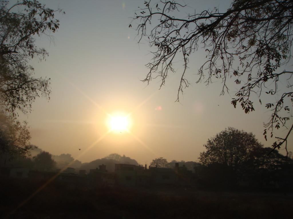 Soluppgång över Pune