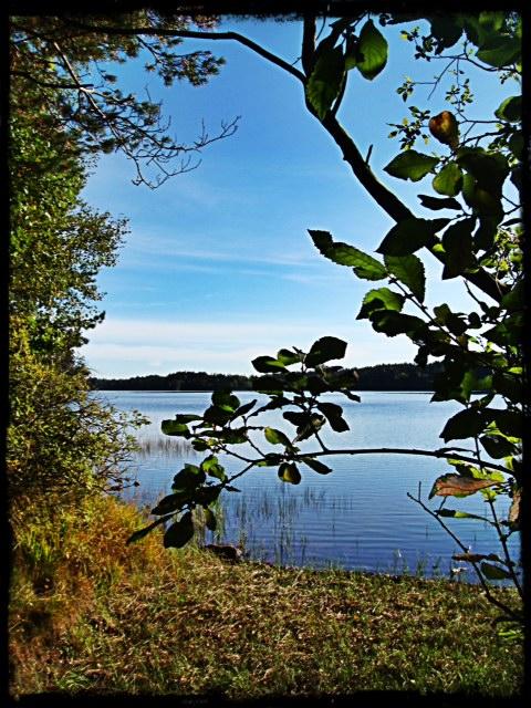 Vackra Hannabadssjön