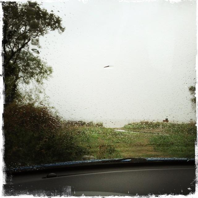 Vila i regn
