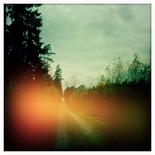 Ljus över vägen