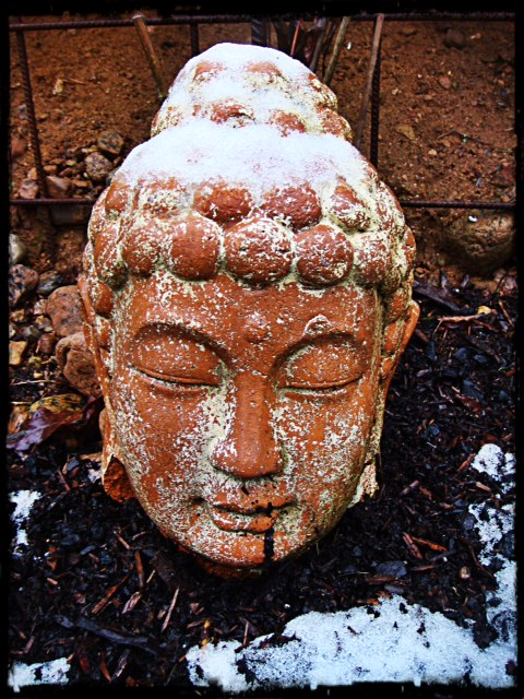 Snöig Budda