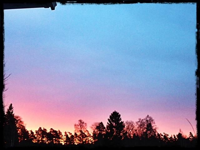 Vacker morgon