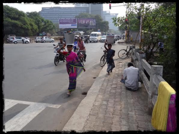 Korsning på North Main Road
