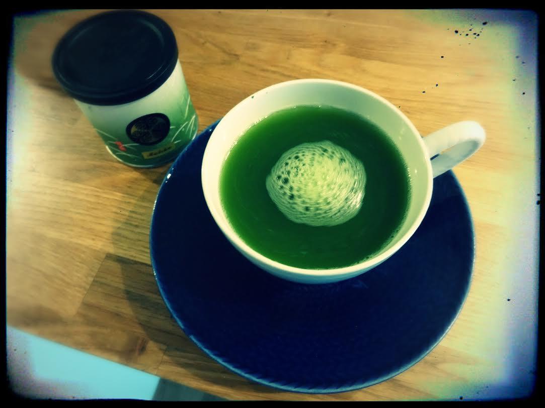 Matcha te färdigt att dricka