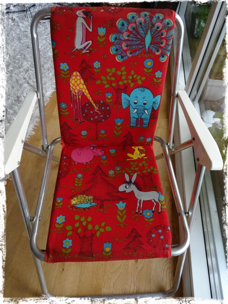 Finfin barnstol, 140824