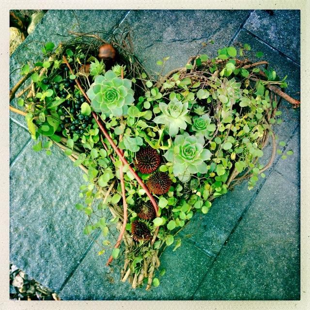 Välkomnande hjärta