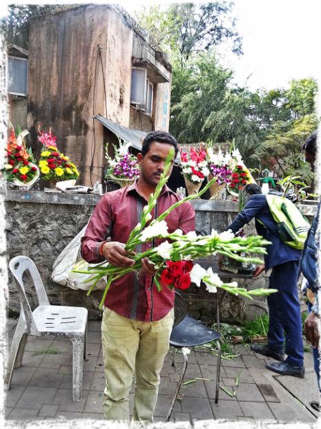 Blomsterförsäljaren på hörnet 1 L