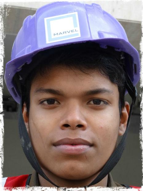 Byggnadsarbetare L