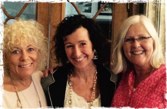 Med Helena och Lou