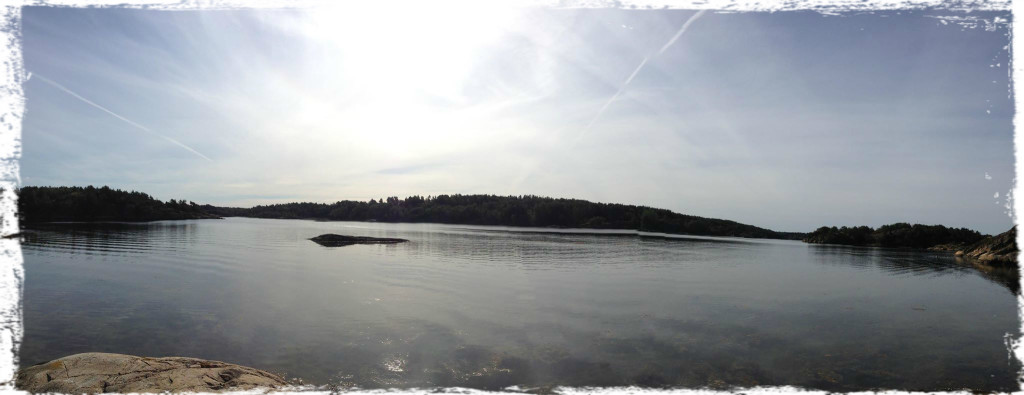 Utsikt vid Buddha Beach