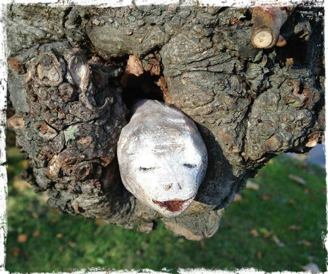 Konst i träd L
