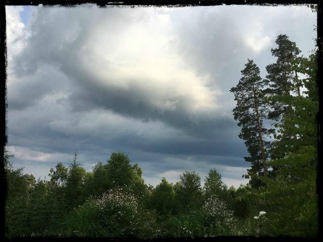 Dramatisk himmel 1 L