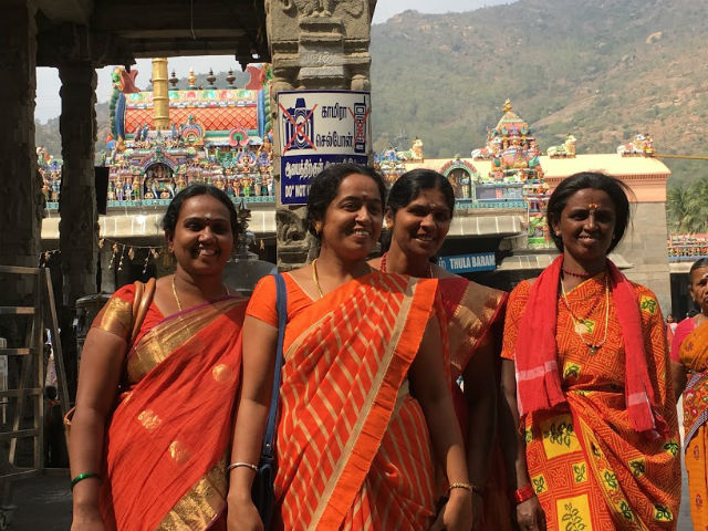 Kvinnor i templet L