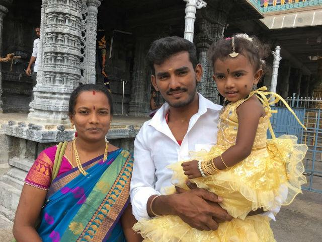 Vacker familj L