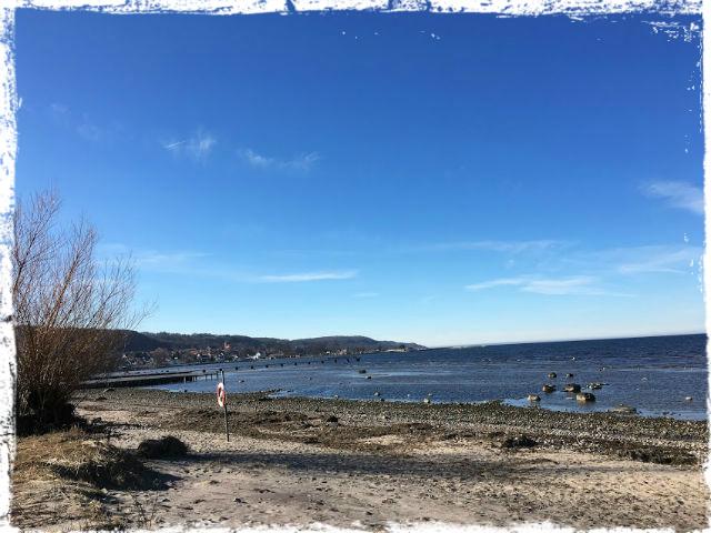 Närmare den här stranden flyttar jag!